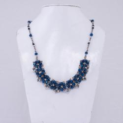 Crescent Flower Necklace