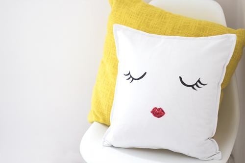cute cushion room decor pillow