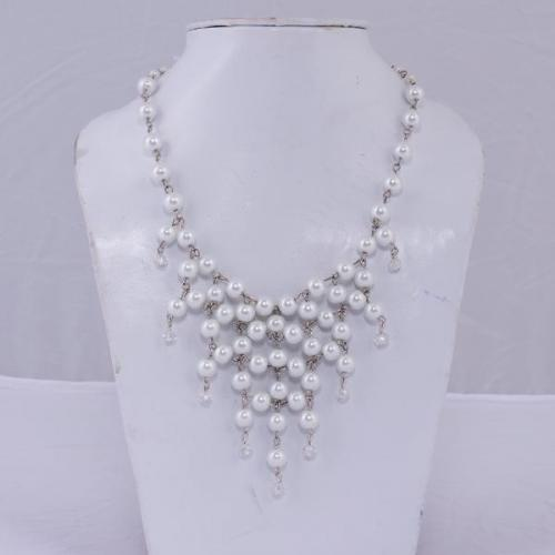 Pearl Weave Necklace