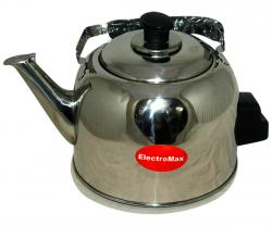 ElectroMax Stainless Steel Electric Kettle - 6 ltr