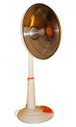 Electric Heating Warm Air Heater Fan