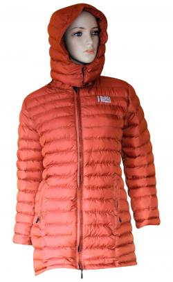 Orange Color Silicon Jacket For Women