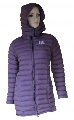 Purple Color Silicon Jacket For Women