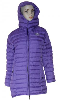 Dark Purple Color Silicon Jacket For Women