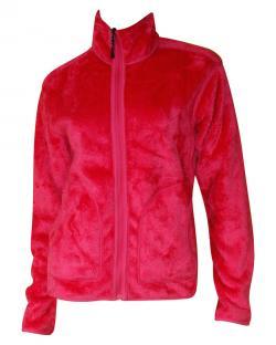 Dark Pink 2 In 1 Jacket - Reversible Jacket
