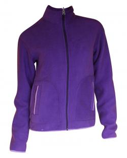 Dark Purple 2 In 1 Jacket - Reversible Jacket