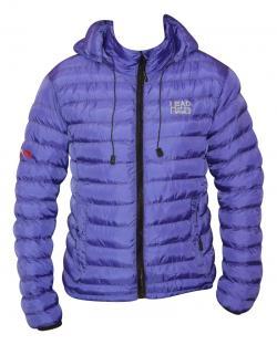Purple Color Short Silicon Jacket