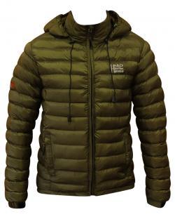 Dark Green Color Short Silicon Jacket