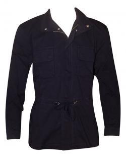 Dark Blue Coat Style Fancy Jacket For Men