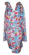 Multicolored Floral Polar Gown For Women