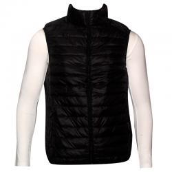 Dark Black Light Down Jacket For Men