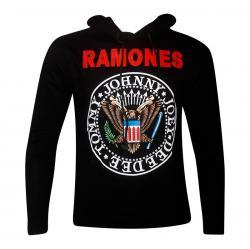 Ramones Dark Black Comfortable Hoodie