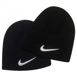 Dark Black Nike Beanies For Winter
