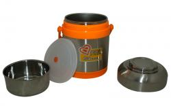 Stainless Steel Heat Preservation Portable Pot - 1.4 ltr