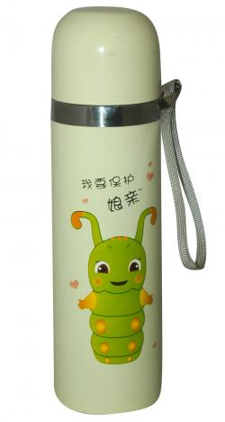 Mega Slim Fancy Water Bottle For Kids - 500ml