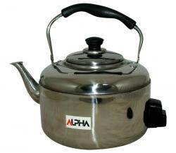 Alpha 6 ltr Kettle - Stainless Steel