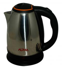 Alpha Stainless Steel Electric Kettle - 2 ltr