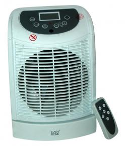 Easy Home Portable Indoor Electric Fan Heater