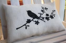 cute cushion room decor pillow