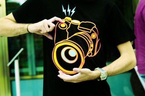 3D print tshirt camera photography tshirt unsex tshirt
