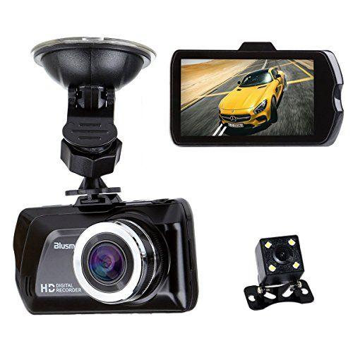 High speed Driving recorder Camera FHD 1080P / Rear And Front Camera