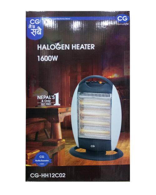 Halogen heater C02
