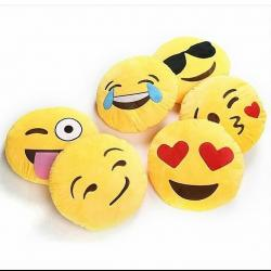 cute emoji cushion room decor pillow