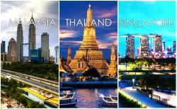 Thailand, Malaysia And Singapore (9n/10d)