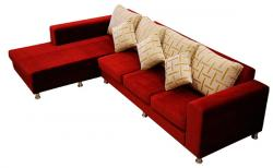 4 Seater Wide Open End Sofa - (SD-002)