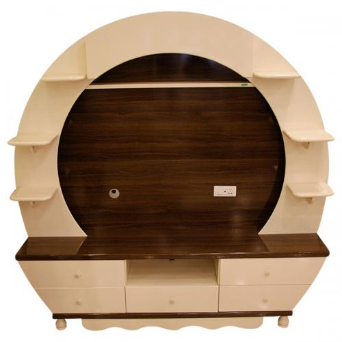 Modern Style TV Rack - Round Shape - (SD-004)