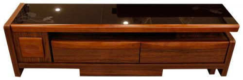 Dark Brown Low Rack - TV Rack - (SD-006)