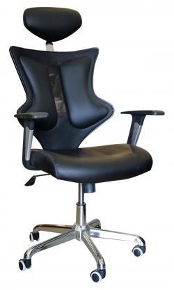 High Back Dark Black CEO Chair - (SD-010)