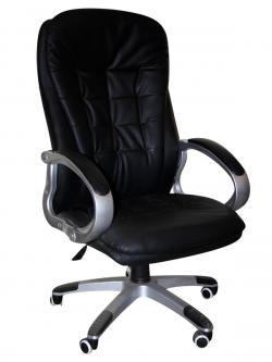 High Back Office Chair - Dark Black - (SD-012)