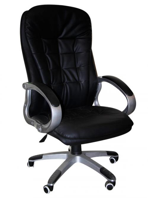 High Back Office Chair - Dark Black - (SD-012)
