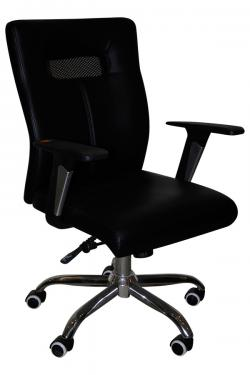 Dark Black High Back Chair - (SD-014)