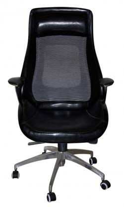 Dark Black High Back Revolving Chair - (SD-015)