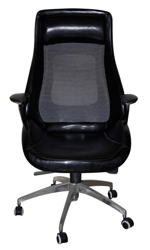 Dark Black High Back Revolving Chair - (SD-015)