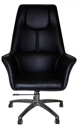 Dark Black High Back Chair - (SD-016)