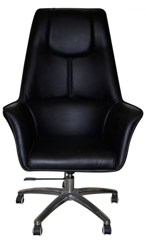 Dark Black High Back Chair - (SD-016)