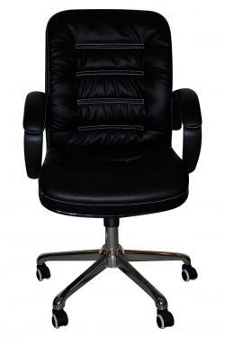 Dark Black Regjin Chair For Office - (SD-018)