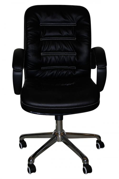 Dark Black Regjin Chair For Office - (SD-018)
