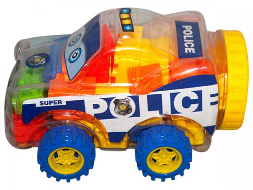 Plastic Building Blocks Car - (NUNA-065)
