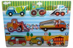 Wooden Vehicle Board - (NUNA-044)