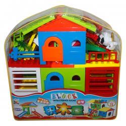 House Blocks Bag - (NUNA-047)