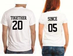 couple tshirt summer tshirt forever couple together since tshirt tank tshirt