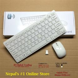 Mini Wireless Keyboard & Mouse Combo Set with Silicone cover @Rs1288