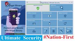 Nepal's First International Antivirus Angel Binary Ultimate Security