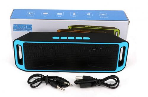 Bluetooth Wireless Megabass Stereo Speaker Car Handsfree Call Subwoofer TF USB FM Radio Music MP3 Player # Nrs. 1000/-