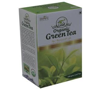 Organic Green Tea Leaf 100gm