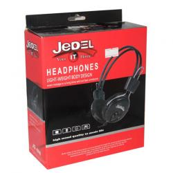 JeDEL Headphone LIGHT WEIGHT HEADPHONE JD-808 #Nrs. 222/-